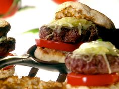 Get this all-star, easy-to-follow Perfect Summer Basil Burger recipe from Melissa d'Arabian