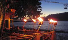MALA OCEAN TAVERN, 1307 Front St., Lahaina, Maui, Hawaii. Reservations: (808) 667-9394 (Best romantic dinner setting. Seared Ahi Bruschetta is a must!)