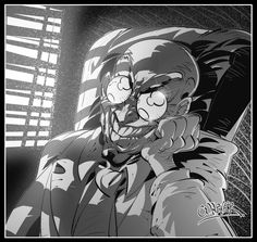 One of the little known Batman´s villains, Professor Hugo Strange. I think he is really good as a villain! It is another just black and white pic. The Stranger, Catwoman, Batgirl, Bob Kane, Dc Comics, Hugo Strange, Solomon Grundy, Comic Villains, Joker
