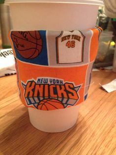New York Knicks Nba Basketball Coffee Sleeve Cozie on Etsy, $3.50