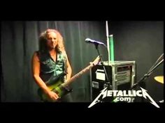 Funny James Hetfield Destroys Kirk Hammett's Solo - YouTube