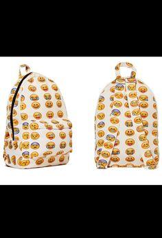 All in my emoji backpack