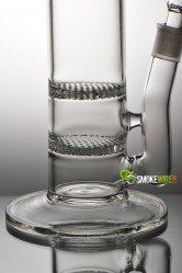 #double #Honeycomb #bong with 2 #percolators - smokewire.com