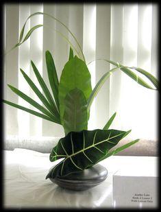 Sogetsu, my favorite style of Ikebana