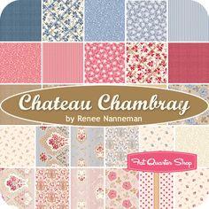 Chateau Chambray Yardage Renee Nanneman for Andover Fabrics - Fat Quarter Shop