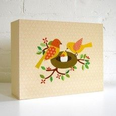 Petit Collage Baby Book and Memory Box