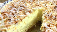 KILLER CREAMY COCONUT PIE - Oolsun.com Cookbook Recipes, Cooking Recipes, Pie Recipes, French Coconut Pie, Easy Stuffed Cabbage, Dirty Rice Recipe, Drops Recipe, Susan Recipe