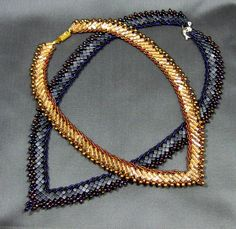 Tutorial St Petersburg Cubed Necklace by cisraydesigns on Etsy