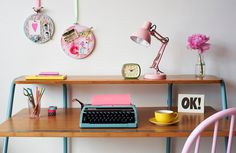 Pastel Pink and Aqua/Mint Colour Inspiration | Charlotte Love Interior Styling - Heart Handmade uk
