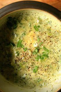 Creamy, Garlicky Stinging Nettle Soup