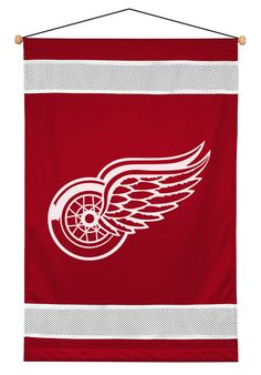 ATHLEZ - Detroit Red Wings Sidelines Wall Hanging