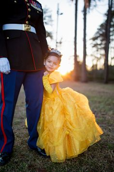 Daddy Daughter Marine Corp Dance
