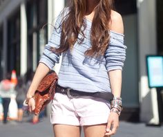 Sweater + Shorts = Early Fall/Late Spring Outfit