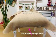 Cómo tapizar una silla, paso a paso - LA NACION Cube Storage, Diy Storage, Furniture Covers, Diy Furniture, Deck Box, Upholstered Bench, Furniture Restoration, Slipcovers, Decoration