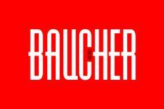 Baucher Gothic by youworkforthem.com