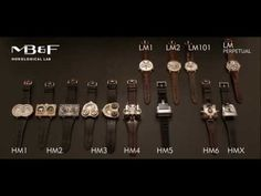 The Entire Collection of MB&F Watches in Retrospective