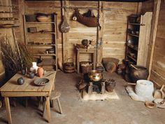 Gallic home reconstructed (Bibracte Museum)