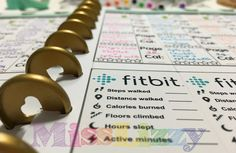 Freebie: Fitbit tracker printable