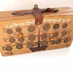 Excited to share this item from my #etsy shop: Collins of Texas Money Tree Box Purse - Vintage Enid Collins Money Tree XII Handbag