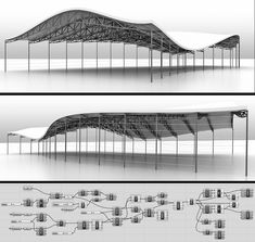 Parametric Architecture, Canopy Architecture, Parametric Design, Architecture Portfolio, Architecture Details, Architecture Diagrams, Backyard Canopy, Garden Canopy, Diy Canopy