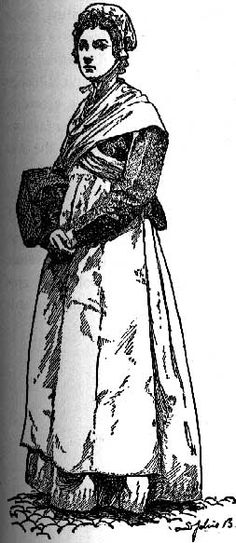 Proletarian and Peasant Dress in 18th Century France - History of Fashion Design