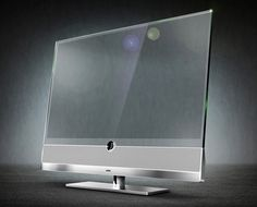 invisio4 Super sleek transparent tv  I wonder if it can be used as a computer screen