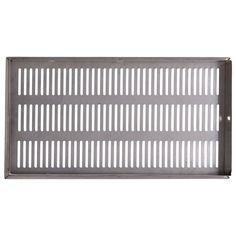 SSY STFT-54 Brass Bathroom -  Kitchen Floor Drain Jali (150*300 MM Silver) #kriosdirect #Floor_Drain