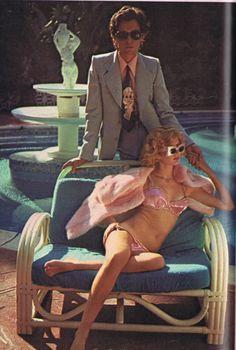 Photos by Chris Von Wangenheim for Oui, January 1974.  #sunglasses