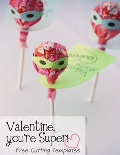 Click Pic for 25 DIY Valentines Day Cards for Kids | Super Tootsie Pop Cards | Easy-to-make homemade Valentine's Day Cards