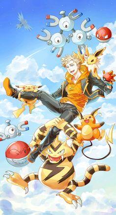 Pokémon Go (Sparky)