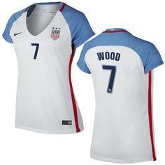 dfb624499 Bobby Wood Home Women s Jersey 2016 USA Soccer Team Us Soccer
