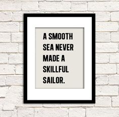 Sailor Art Print  Nautical Wall Art  Vintage by alphonnsine