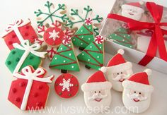 'Christmas Cheer' Holiday Gift Box (promotion!) by L sweets, via Flickr