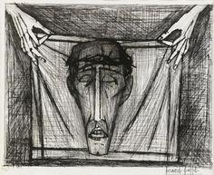 Bernard Buffet - Saint Veronica's Handkerchief, 1953