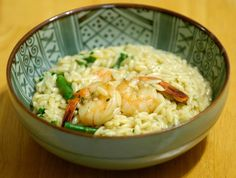 Orzo Risotto with Buttery Shrimp - Test Recipes - Cooking For Engineers