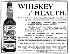An poster sized print, approx (other products available) - This advert extols the medicinal benefits of whisky quoting the British Medical Journal for authority - Image supplied by Mary Evans Prints Online - Poster printed in the USA Scotch Whiskey, Irish Whiskey, Bottle Drawing, Fine Art Prints, Framed Prints, Framed Wall, Whisky Bar, Pot Still, Medical Journals
