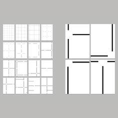 Grid Design, Graphic Design, Minimalism, Identity, Floor Plans, Branding, Journal, Modern, Inspiration