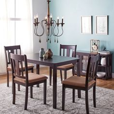 TMS Tiffany 3 Piece Dining Set U0026 Reviews | Wayfair | Diy/decorating |  Pinterest | Kitchen Dining Sets, Dining Sets And Dining Furniture