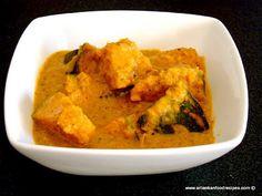 Sweet Pumpkin Curry (Wattakka) - Sri Lankan Food Recipes