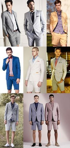 Risky Men's Style Statements and How To Pull It Off, The Short Suits Lookbook Inspiration