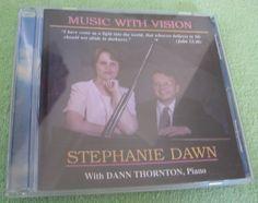 Music With Vision Stephanie Dawn CD #Gospel
