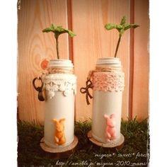 【mignon.sweets.forest】さんのInstagramをピンしています。 《#ハンドメイド #handmade #粘土細工 #粘土 #フェイクスイーツ #スイーツ #Sweets #食べられないお菓子 #作品集 #空き瓶リメイク #花瓶 #chocolate #ミント #うさぎ #rabbit #樹脂粘土 #手作り #clay #ナチュラル雑貨  #natural #チョコレート  #フェイクグリーン #レース #チャーム #ペン立て #森 #ノスタルジック * * フォロー・いいね!ありがとうございます❤ * 作品集としてUPしているのでリフォローは致しません。 * 宣伝目的等ですぐに外す方、最初からフォローしないでください‼️》