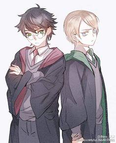 Harry Potter Comics, Cute Harry Potter, Harry Potter Ships, Harry Potter Anime, Harry Potter Pictures, Harry Potter Books, Harry Potter Fan Art, Harry Potter Fandom, Harry Potter Memes