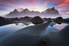 Early morning at the Vestrahorn Iceland