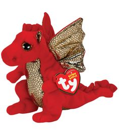 Official product from Tys wildly popular Beanie Babies Collection Look for the familiar heart-shaped tag that means youve purchased an authentic Ty product Handmade with the finest quality standards i Beanie Babies Value, Beanie Baby Bears, Ty Beanie Boos, Cute Stuffed Animals, Dinosaur Stuffed Animal, Expensive Beanie Babies, Ty Babies, Baby Dino, Beanie Buddies