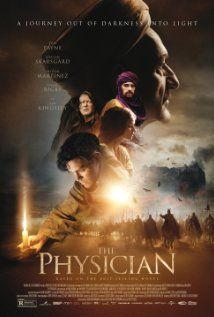 The Physician (2013) Poster. Loved it! This movie has everything: good looking guy, middle ages European snake oil salesman/healer, desert sand storms, Arabic princes, Jewish princess, dawn of modern medicine, Stellan Skarsgård, and Ben Kingsley. How could you go wrong?!