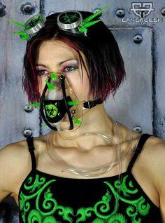 Malpractice Symbol Cyber Gas Mask