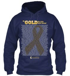 Just ordered my hoodie!!!  Go Gold for Kids with Cancer - September