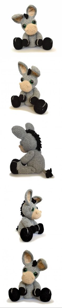 Dylan The Donkey Amigurumi Pattern