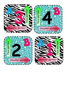These animal print Kagan-style mats are used for cooperative learning in your classroom. If you are like me, I have individual student desks that d. Classroom Tools, 2nd Grade Classroom, Classroom Posters, Math Classroom, Classroom Themes, Classroom Organization, Classroom Management, Teaching Activities, Learning Resources